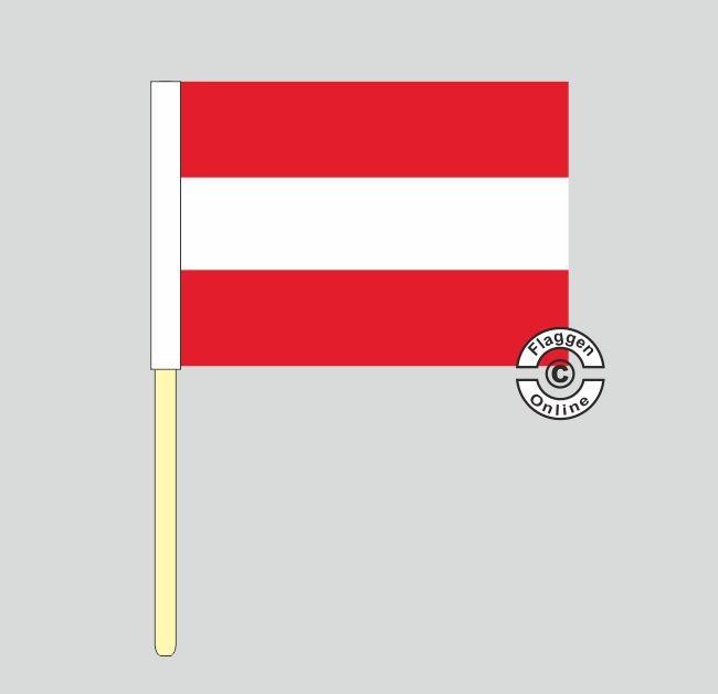 Österreich Stockflagge