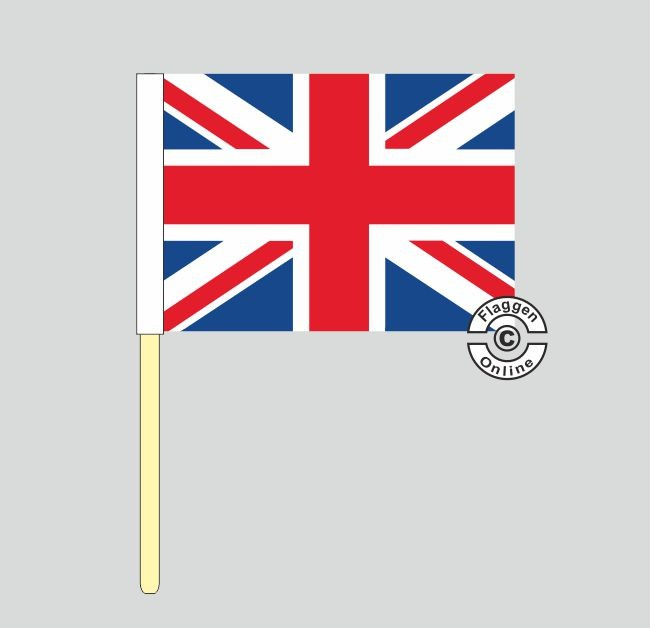 Großbritannien United Kingdom Stockflagge