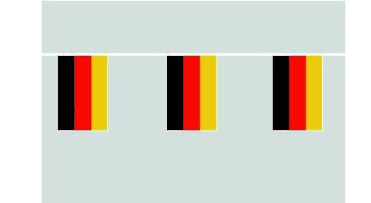 Deutschland Flaggenkette