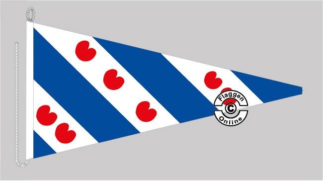 Friesland - Frysland Bootsstander Wimpel
