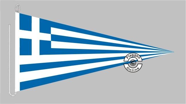 Griechenland Bootsstander Wimpel