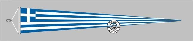Griechenland Langwimpel mit Querholz