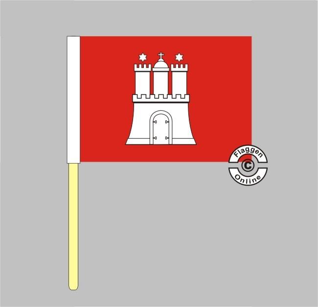Hamburg Stockflagge