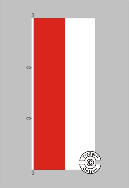 Hessen Flagge / Fahne für extreme Windlasten