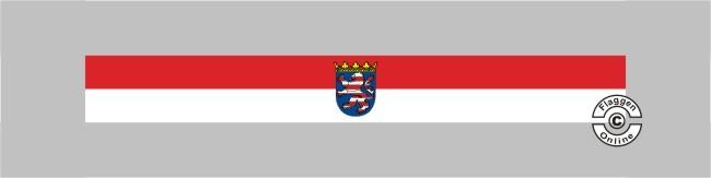 Hessen mit Wappen Tischband