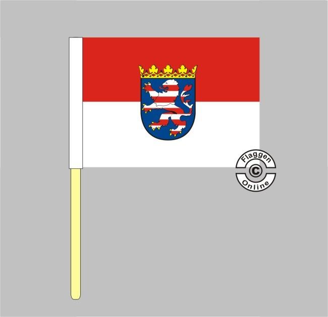 Hessen Stockflagge