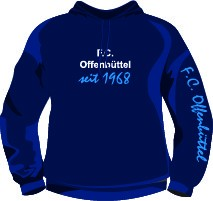 Hooded-Shirt FC Offenbüttel Nr.1