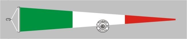 Italien  Langwimpel mit Querholz