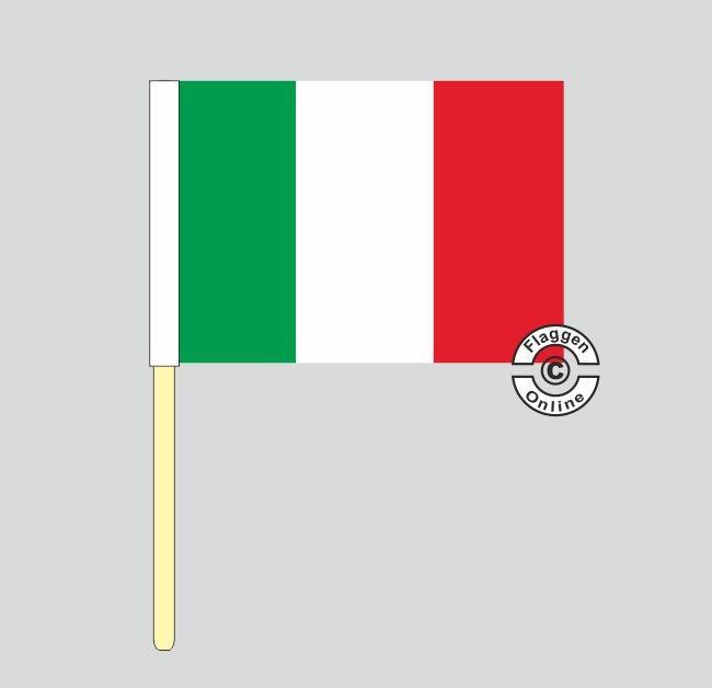 Italien Stockflagge