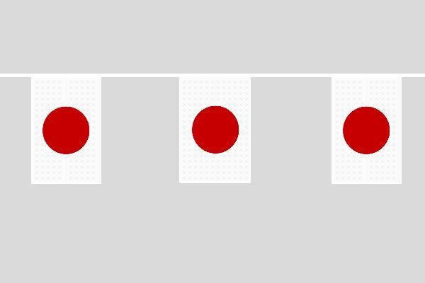 Japan Flaggenkette