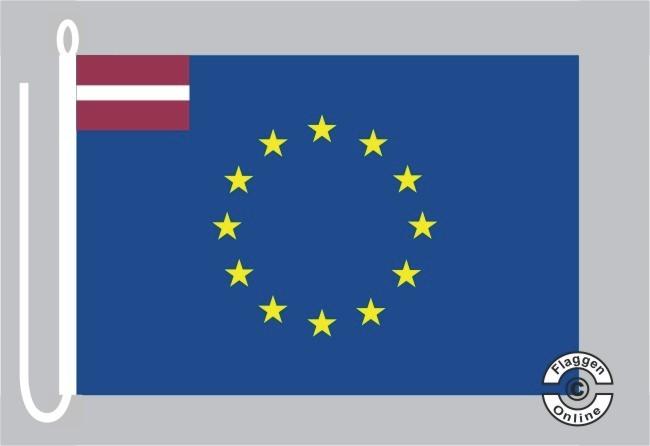 Lettland Europa Bootsflagge