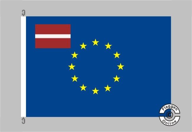 Lettland Europa Flagge