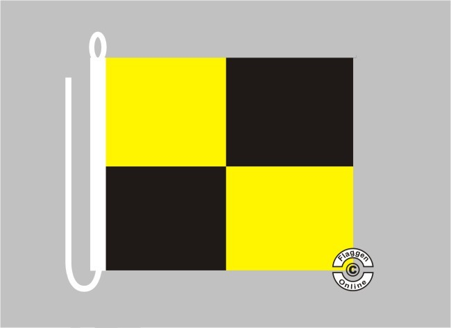 Signalflagge LIMA Flagge