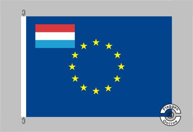 Luxemburg Europa Flagge