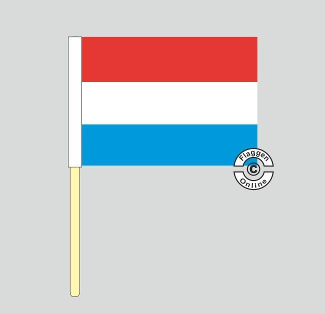 Luxemburg Stockflagge