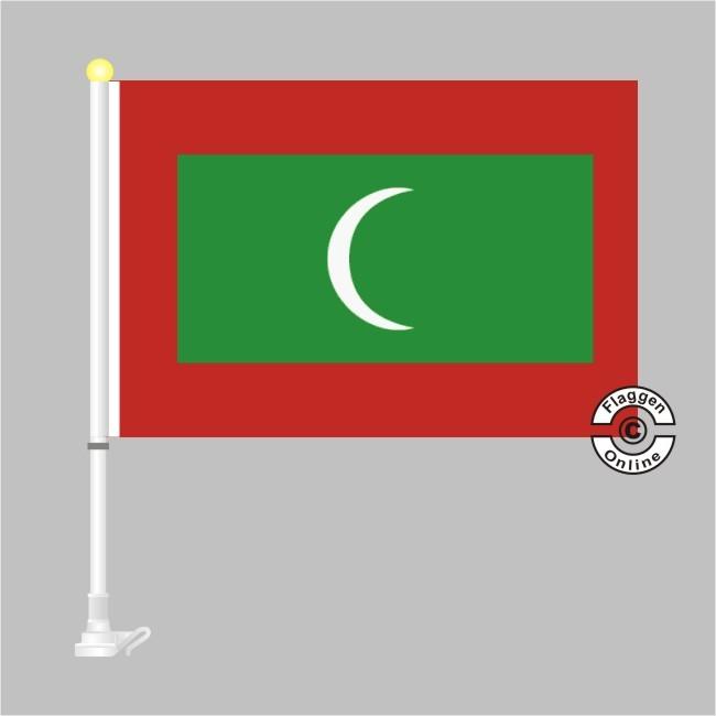 Malediven Autoflagge