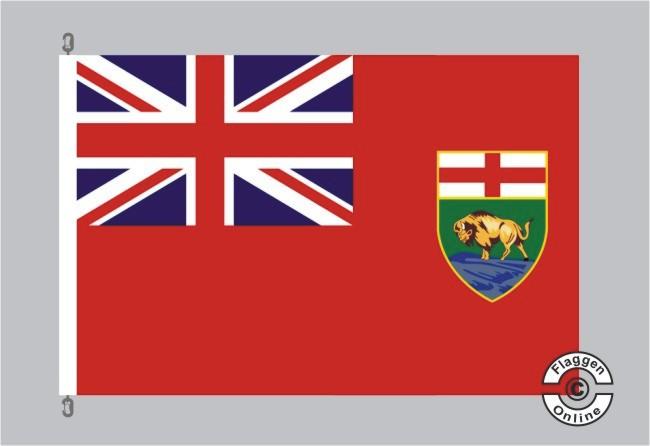 Manitoba Flagge Fahne