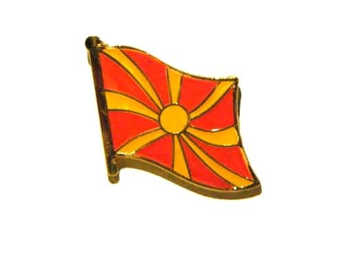 Mazedonien Flaggenpin