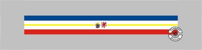 Mecklenburg-Vorpommern mit Wappen Tischband