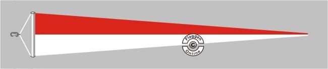 Monaco Langwimpel mit Querholz