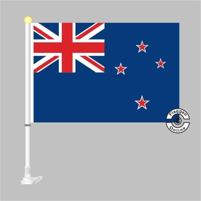 Neuseeland Autoflagge