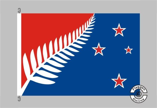 Neuseeland Silberfarn Flagge