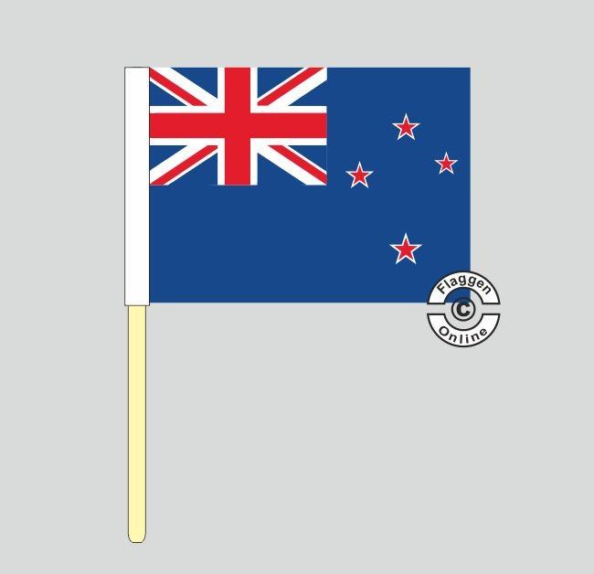 Neuseeland Stockflagge