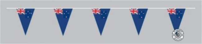 Neuseeland Wimpelkette