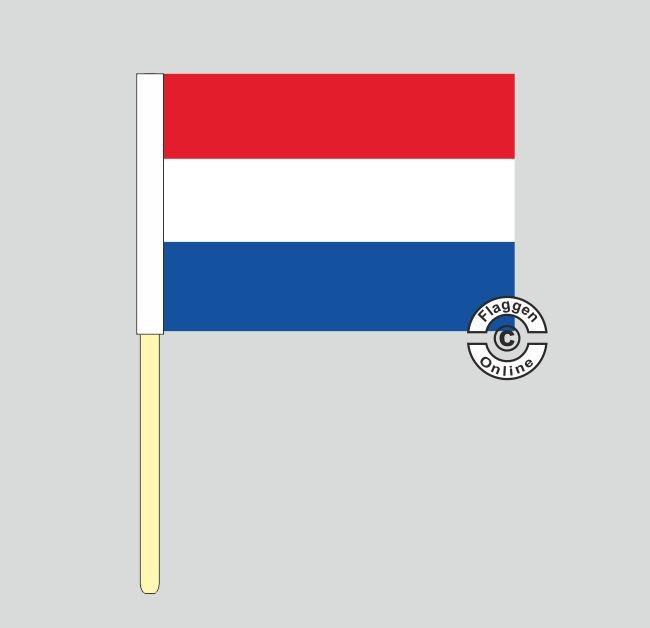 Niederlande Stockflagge