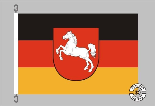 Niedersachsen Flagge