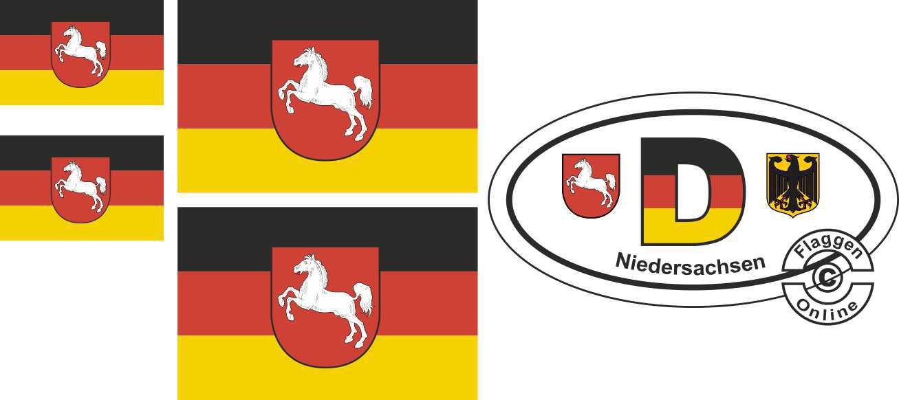 Niedersachsen Aufkleber
