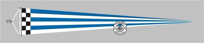Norderney Langwimpel mit Querholz