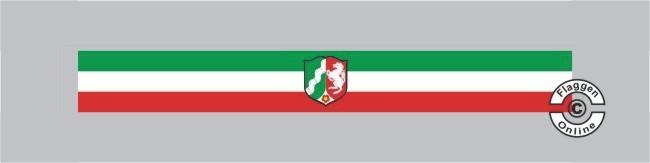 Nordrhein-Westfalen mit Wappen Tischband