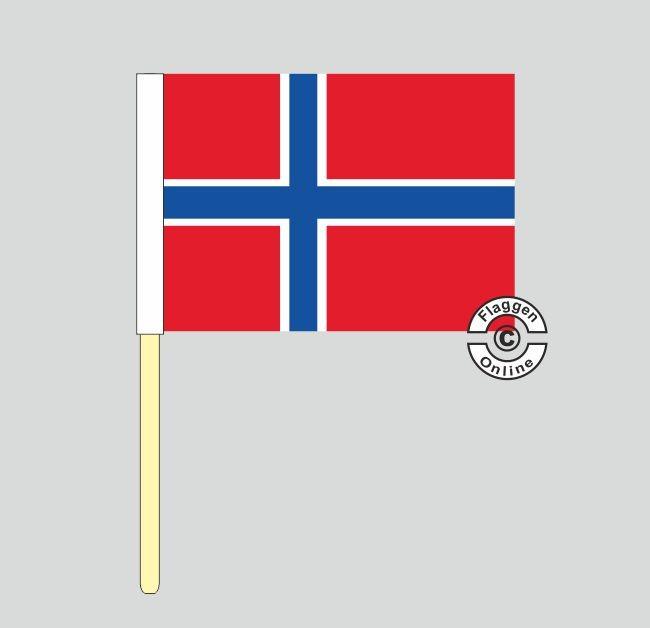 Norwegen Stockflagge
