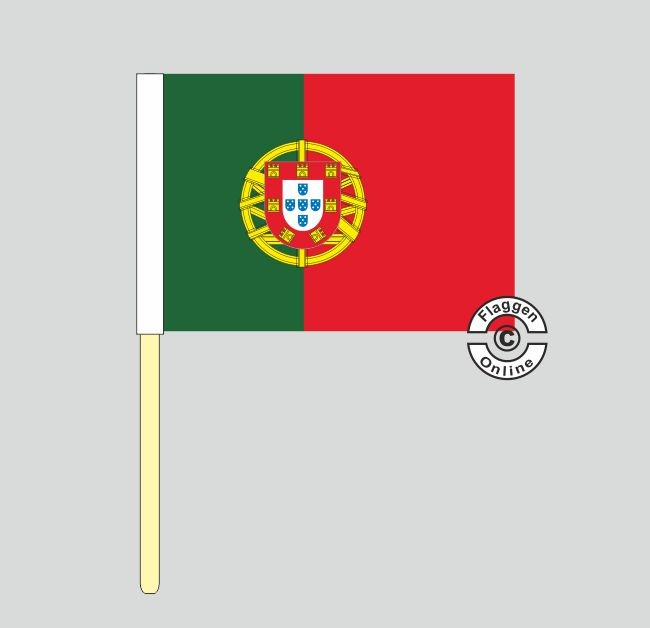 Portugal Stockflagge