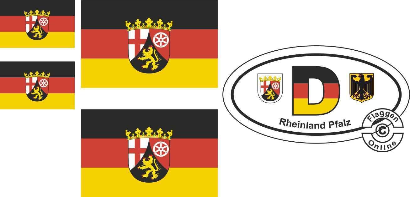 Rheinland-Pfalz Aufkleber