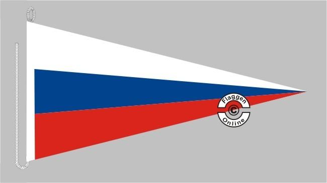 Russland Bootsstander Wimpel