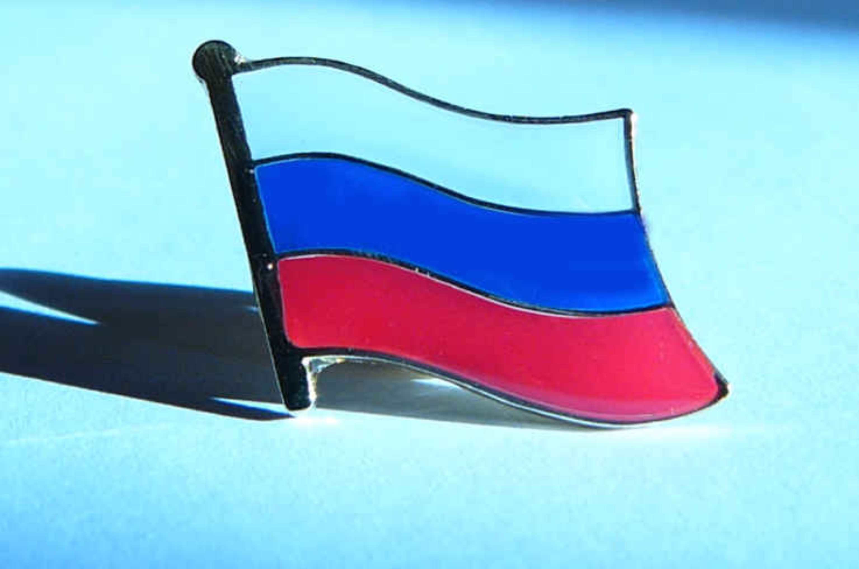Russland Flaggenpin