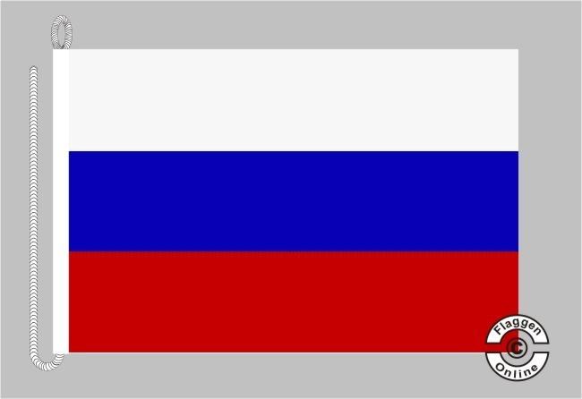 Russland Bootsflagge