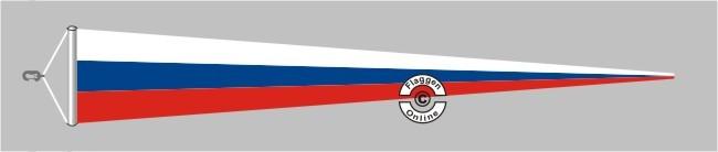 Russland Langwimpel mit Querholz