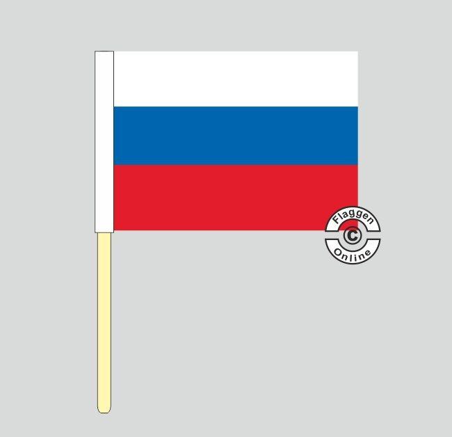 Russland Stockflagge