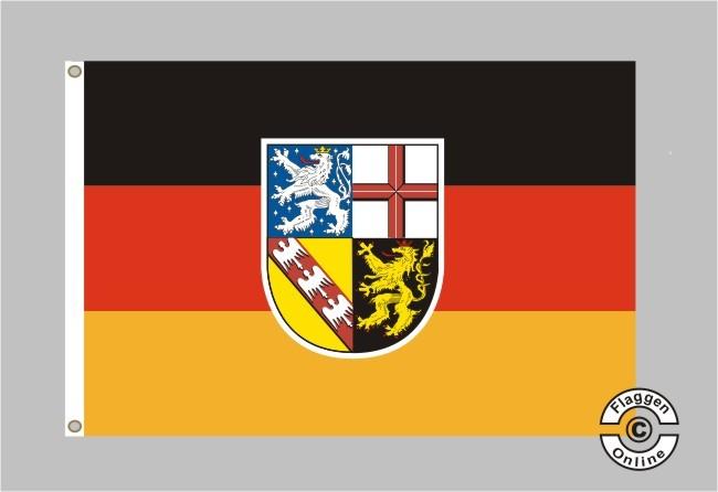 Saarland Flagge