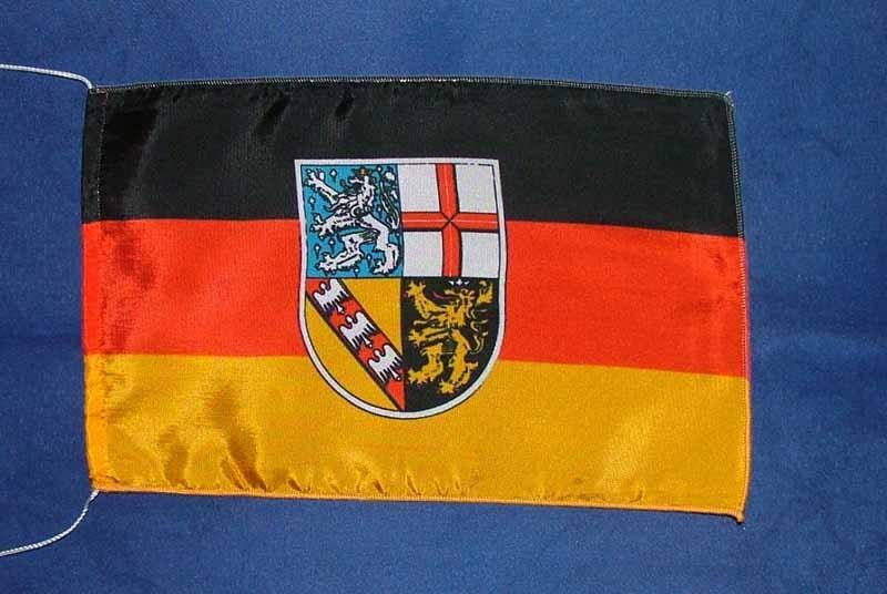 Saarland Tischflagge