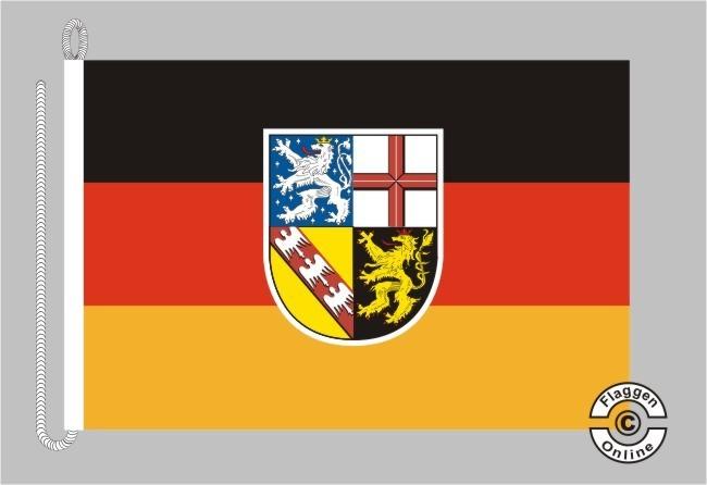 Saarland Bootsflagge