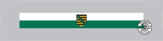 Sachsen mit Wappen Tischband