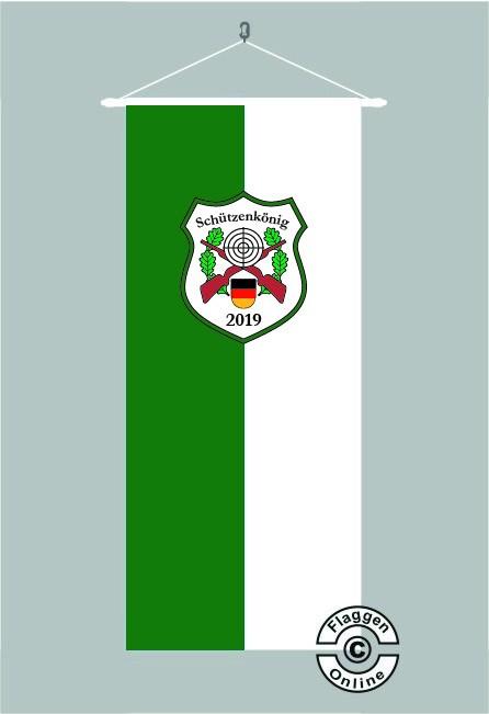Schützenkönig Deutschland Bannerfahne
