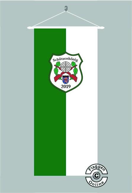 Schützenkönig Hessen Bannerfahne
