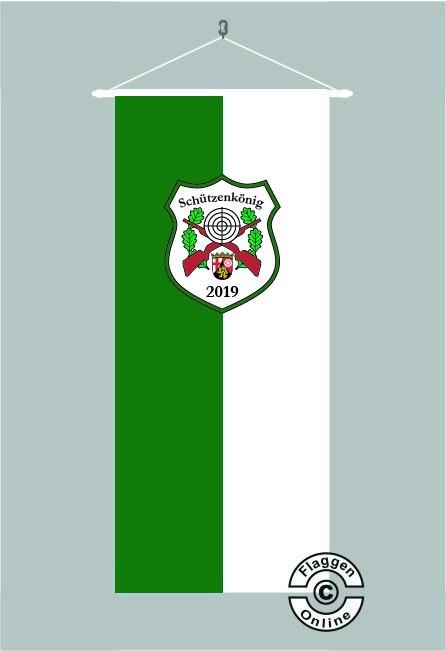Schützenkönig Rheinland-Pfalz Bannerfahne