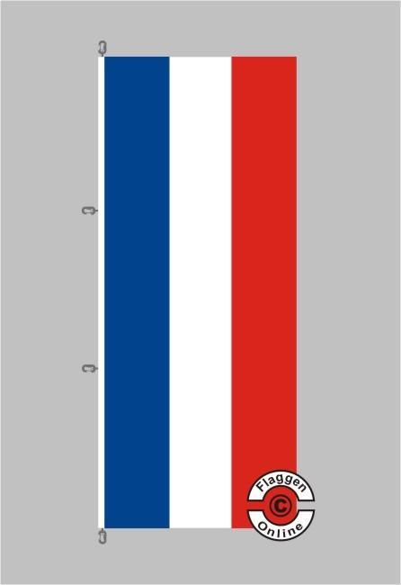 Schleswig-Holstein Hochformat Flagge / Fahne für extreme Windlasten
