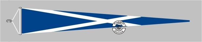 Schottland Langwimpel mit Querholz